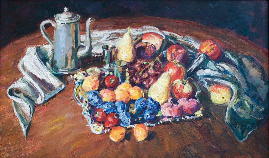 Натюрморт с фруктами, 75*45 см, в наличии